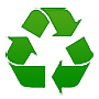 Roof tile is a resource to be recycled